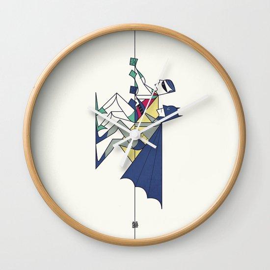 The POW! of love Wall Clock