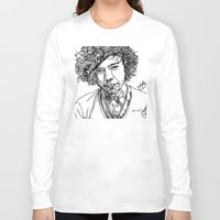 harry styles Long Sleeve T-shirts featuring Harry Styles by Hollie B
