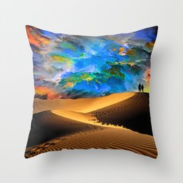 Walk In Love Throw Pillow
