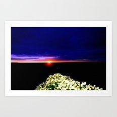 Endeavour Bay Art Print
