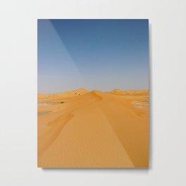 Empty Quarter Sand Dunes Metal Print