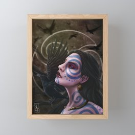The Morrigan Framed Mini Art Print