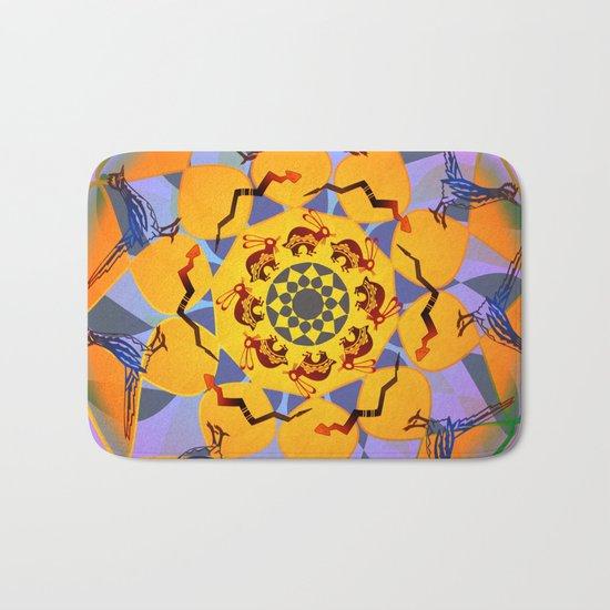Animal Mandala Bath Mat