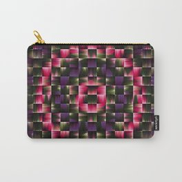 Red Circle Mosaic Carry-All Pouch