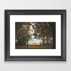 Yellow on Yellow Framed Art Print