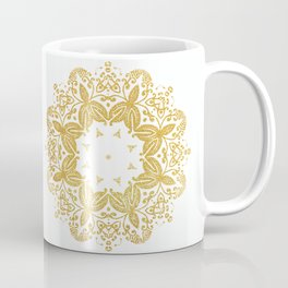 Golden mandala Coffee Mug