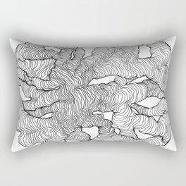 Organic Lines Rectangular Pillow