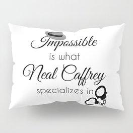 Con Man - White Collar Pillow Sham