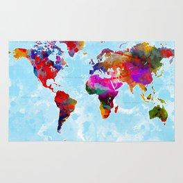 World Map - 3 Rug