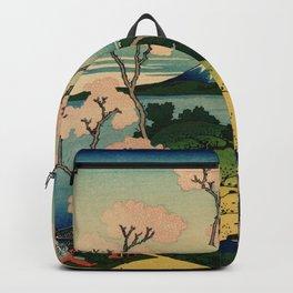 "Hokusai (1760–1849) ""Goten-yama-hill, Shinagawa on the Tōkaidō"" Backpack"