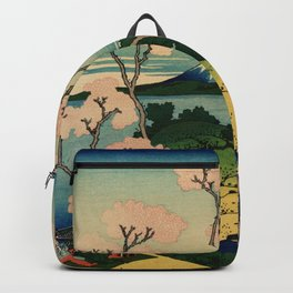 "Hokusai (1760–1849) ""Goten-yama-hill, Shinagawa on the Tōkaidō"" Backpack"