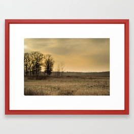 Beautiful Prairie Framed Art Print