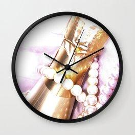 High Key Celebration Wall Clock