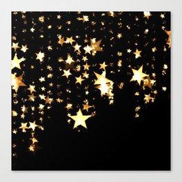 Falling Stars Canvas Print