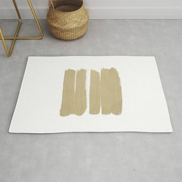 Stripes - No Comment #3 #minimal #painting #decor #art #society6 Rug