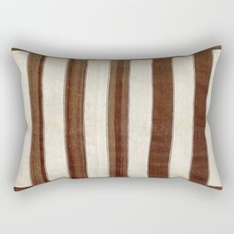 Bakhtiari  Antique Chahar Mahal Persian Kilim Print Rectangular Pillow