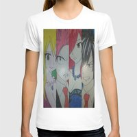 fairy tail T-shirts featuring Fancy Fairy Tail Arrangement One by X21DaysOfMoonX