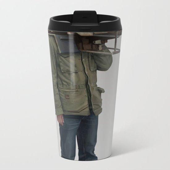 I built it for myself Metal Travel Mug