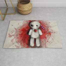 Halloween Theme [Voodoo Doll] Rug