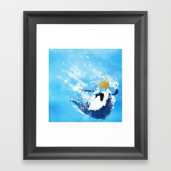 Why did you eat my fries? Framed Art Print