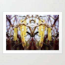 Blooming Horns Art Print