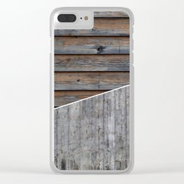 Material Palette Clear iPhone Case