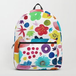 Watercolour Blooms Backpack