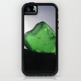 EMERALD GREEN SEA GLASS SUNSET iPhone Case