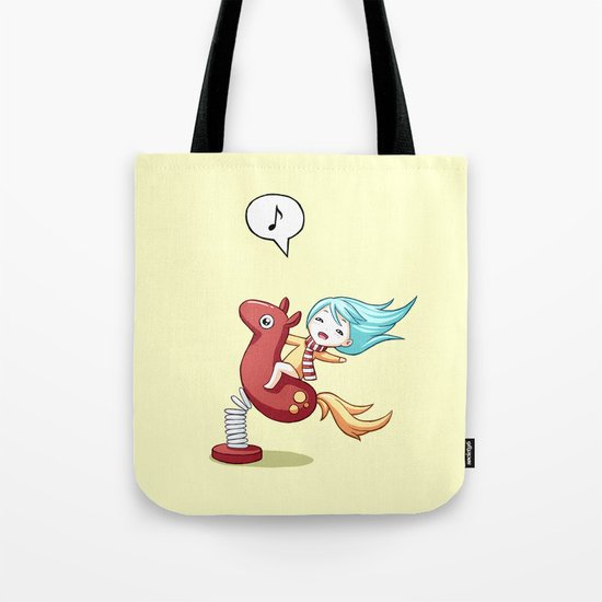Pony Ride Tote Bag