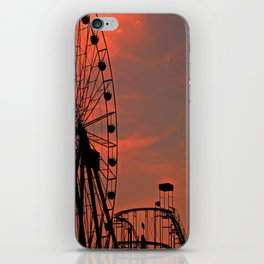 Sundown in Fun Town iPhone Skin