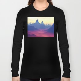 Mountains of Another World Long Sleeve T-shirt