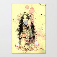 Bubble Gum Bandits Canvas Print