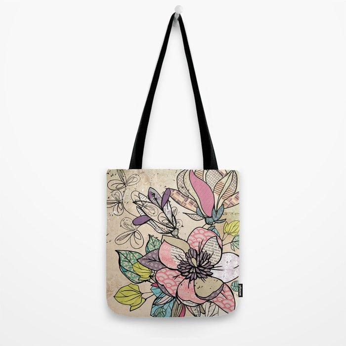 Paper Flowers #5 Tote Bag