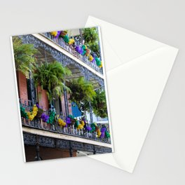 Mardi Gras Balcony Stationery Cards
