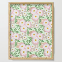 Chamomiles. Pastel'. Serving Tray