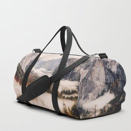 Amazing Yosemite California Forest Waterfall Canyon Duffle Bag