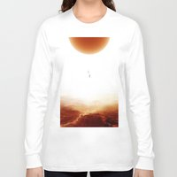 bruno mars Long Sleeve T-shirts featuring Mars Diving by Stoian Hitrov - Sto