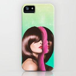 Split Hairs iPhone Case