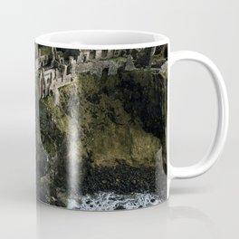 Castle ruin by the irish sea - Landscape Photography Coffee Mug