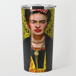 Frida Kahlo 3 Travel Mug