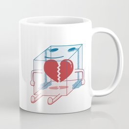 Little Box of Broken Heart Coffee Mug
