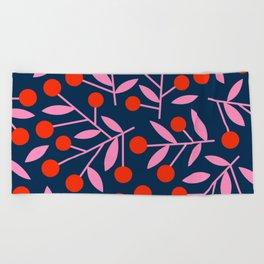 Cherry_Blossom_03 Beach Towel