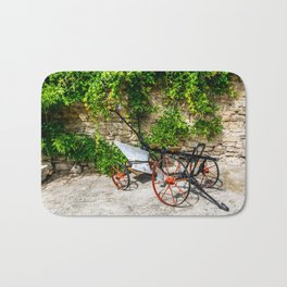 Historic Agricultural Plow Bath Mat