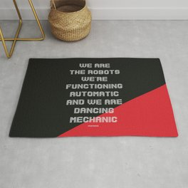 We are the Robots Rug
