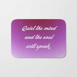 Quiet the Mind Bath Mat