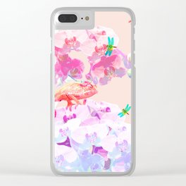 Exotic Pacific Clear iPhone Case