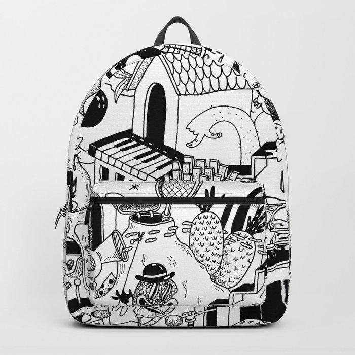 DOODLE WORLD Backpack