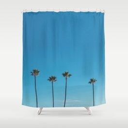 Summer Palms Shower Curtain