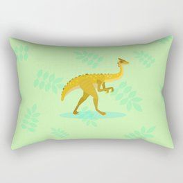 Gallimimus, From That Chase Scene Rectangular Pillow