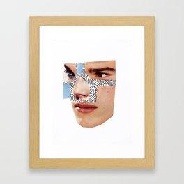 Miscommunication I Framed Art Print